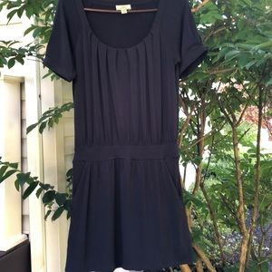 Ann Taylor Loft Navy Dress with pockets.Size small